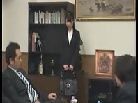 Japanese Secretary Humiliation