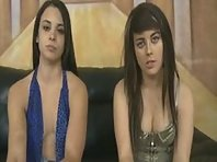 Two Sluts humiliated and Face Fucked