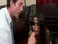 Caged Slut humiliation and Training