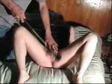 Amateur vagina flogged and caned - Homemade Tube
